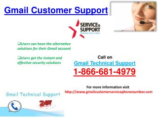 Contact Gmail Helpline Number 1-866-681-4979