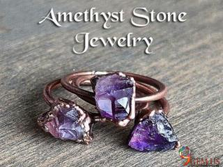 Amethyst Stone Jewelry Items