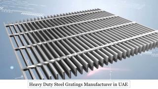 Heavy Duty Steel Gratings in UAE