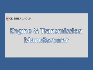 Avtec Engine & Transmission Components