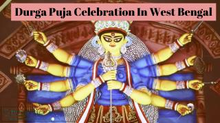 Durga Puja Celebration in West Bengal