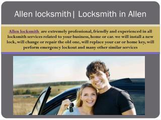 Allen Locksmith