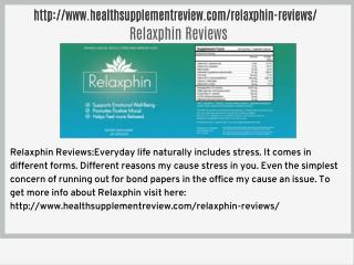 http://www.healthsupplementreview.com/relaxphin-reviews/