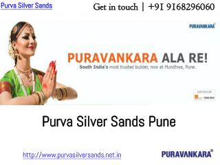 Puravankara Pre Launch Project - Purva Silversands Pune