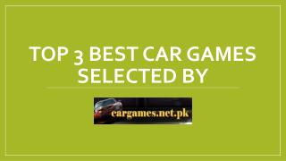 Top 3 Car Games for Kids