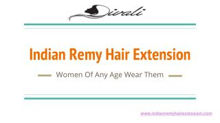 Indian Remy Hair Extension : An Online Shop