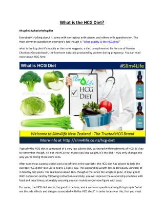 Lose Weight Naturally With HCG Diet?