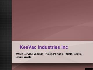 Liquid Waste Trucks