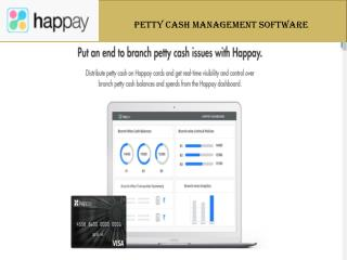Petty Cash Management Solution