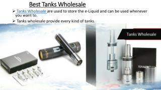 Tanks Wholesale