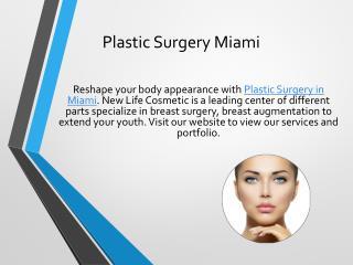 Cosmetic Surgery Miami