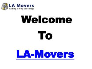 Find Great Affordable, Cheap Moving Companies - Los Angeles