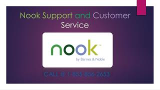 Nook Customer Support Service & Help Call At 1855-856-2653