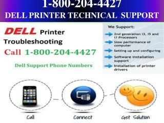 1-800-204-4427 dell printer technical support phone numbers