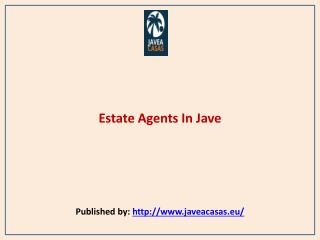 Estate Agents In Jave