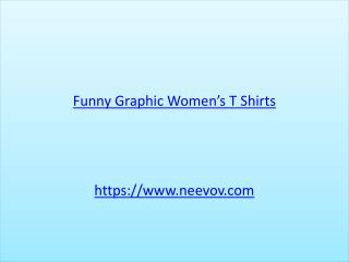 Black Colour Graphic Funny Printed Womens T Shirts