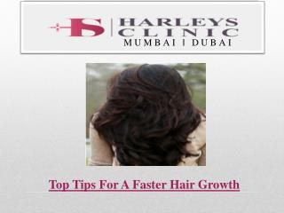 Top Tips For A Faster Hair Growth