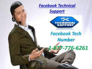 Facebook Technical Support Number 1-877-776-6261 Facebook Support