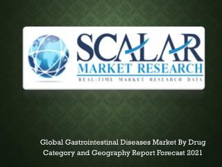 Gastrointestinal Disease Market to 2022 with Trends, Key Vendors, market Driver, Market Segmentation