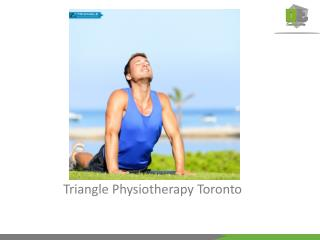 Triangle physiotherapy Mississauga, best physiotherapist in canada