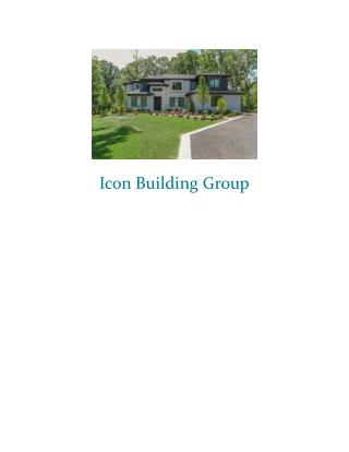 Chicago Home Builders | Custom Luxury Homes | Icon Building Group