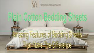 Important Things To Be Done Before Buying Cotton Bedding Sheets
