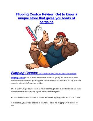 Flipping Costco Review – (Truth) of Flipping Costco and Bonus