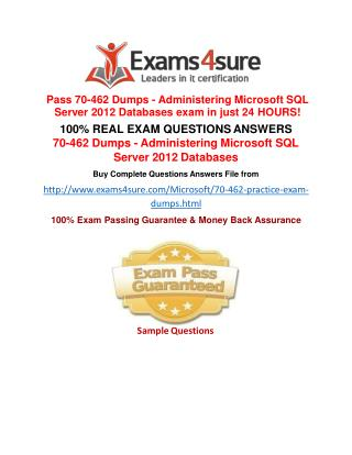 70-462 Exam Questions