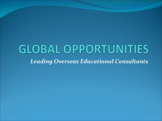 Study In Australia|Study Abroad|Overseas Education|Foreign Education Consultants