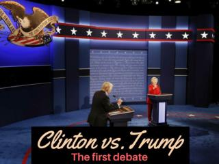 Clinton vs. Trump: The first debate