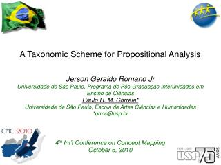 A Taxonomic Scheme for Propositional Analysis