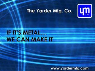 The Yarder Mfg. Co.