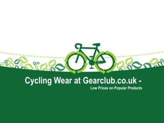 Gear Club | Custom Cycling Clothing