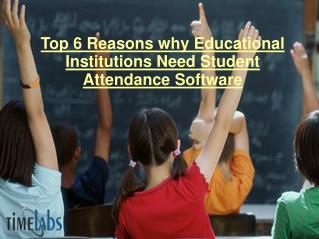 Student Attendance Software
