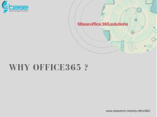 SBase office 365 solutions