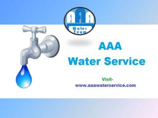 Naples Water Systems | AAA Water Service