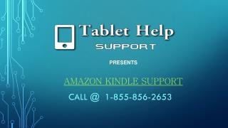 Amazon Kindle Support Call @ 1-855-856-2653