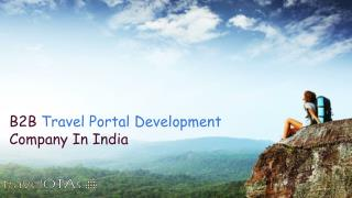 B2B Travel Portal Development Company In India