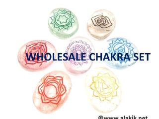 Manufacturer & Supplier of Wholesale Chakra Set - Alakik - Universal Exports