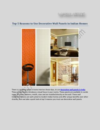 PVC Ceiling Panels in India