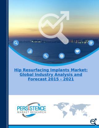 Hip Resurfacing Implants market estimates and forecasts(2015 -2021)