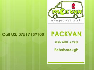 Man With Van Peterborough