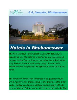 Hotels in Bhubaneswar