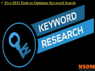 Five SEO tools to optimise keyword search