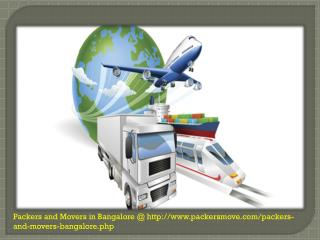 Professional Packers And Movers in Bangalore