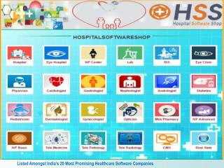 HospitalSoftwareShop - India's First Online Shop for software for Hospitals, Doctors Clinic, Laboratories