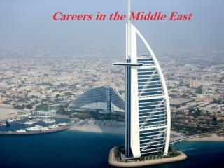 Careers in the Middle East