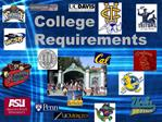 College Requirements