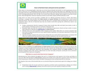 Get Best Pool,lawn,Grass Service & maintenance services
