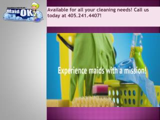House Cleaning Company Edmond OK